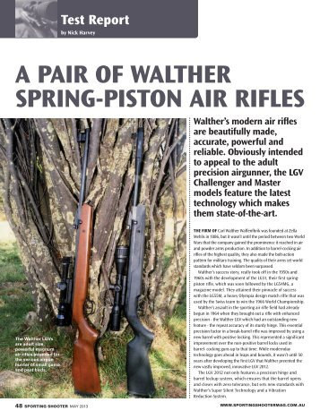 Sporting Shooter review May 2013 - Frontier Arms