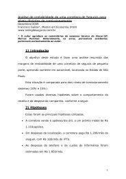 Análise de rentabilidade de uma corretora de Seguros para níveis ...
