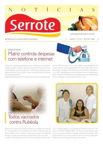 Matriz controla despesas com telefone e internet Todos vacinados ...