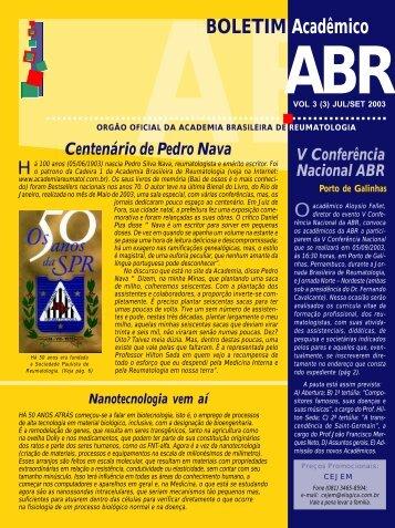Boletim 3_3_FOTOLITO_OK.p65 - Academia Brasileira de ...