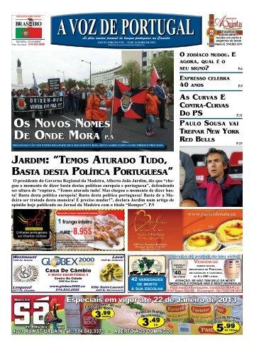 os novos nomEs DE onDE morA P.5 - A Voz de Portugal