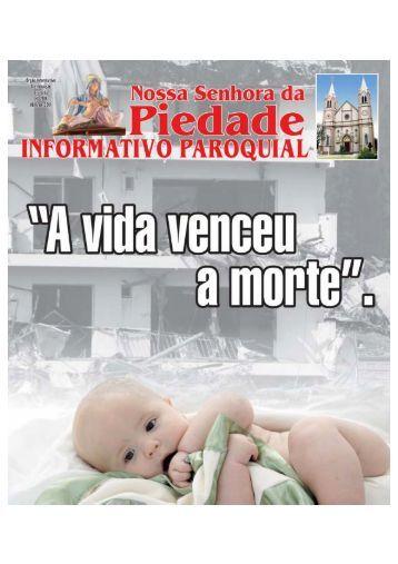 Abril piedade_11.p65 - Paróquia Nossa Senhora da Piedade