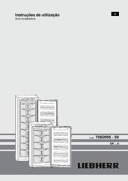 Instruções de utilização 12/08 7082666 - 00 - Liebherr