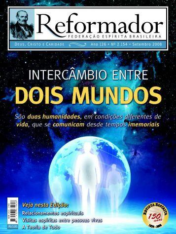 reformador Setembro 2008 - a.qxp - Federação Espírita Brasileira