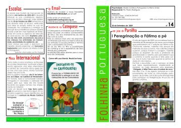 Folhinha - Missão Católica Portuguesa