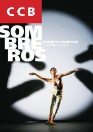 Programa de Sala Sombreros - Philippe Decouflé