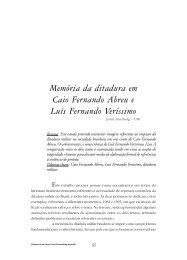 Memória da ditadura em Caio Fernando Abreu e ... - FALE - UFMG