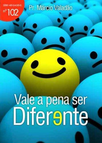 Vale a pena ser diferente - Livros evangélicos