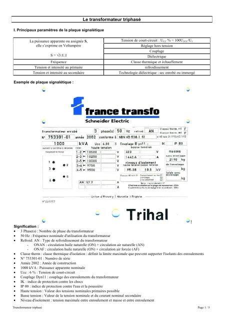 HAUTES TENSIONS MULTIPLES TRANSFO 8 VA