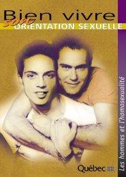 Brochure Bien vivre son orientation sexuelle - Les ... - Gai Écoute