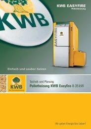 Pelletheizung KWB Easyfire 8-35 kW - Jenni Energietechnik AG