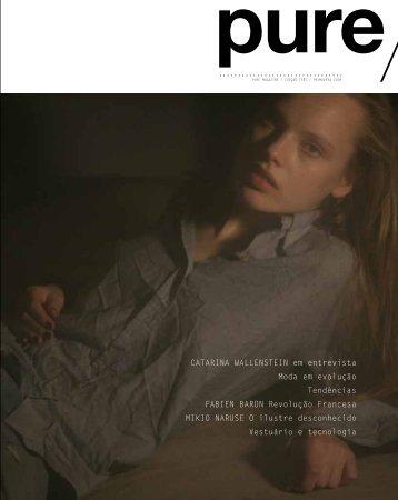 CaTarina WallenSTein em entrevista Moda em ... - Pure Magazine