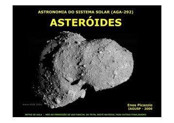 ASTERÓIDES ASTERÓIDES - 04/09/2013 10:25:11 am -0300