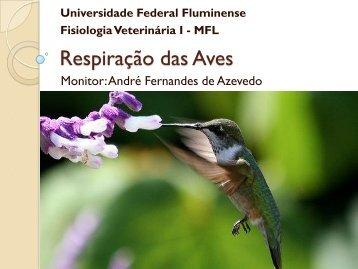 Respiração das Aves - UFF