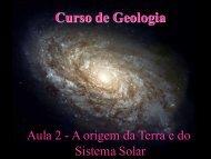 Aula 2 - A origem da Terra e do Sistema Solar - Light