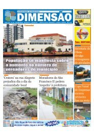 'Cratera' na rua Alegrete prejudica dia a dia da ... - Jornal Dimensão