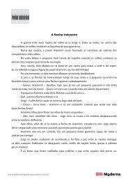 A flecha traiçoeira - Pedro Bandeira