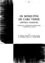 Os mosquitos de Cabo Verde (Diptera: Culicidae). - Systematic ...