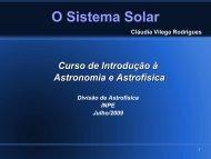 O Sistema Solar - DAS/INPE