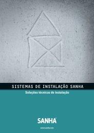 SISTEMAS DE INSTALAÇÃO SANHA - Sanitop
