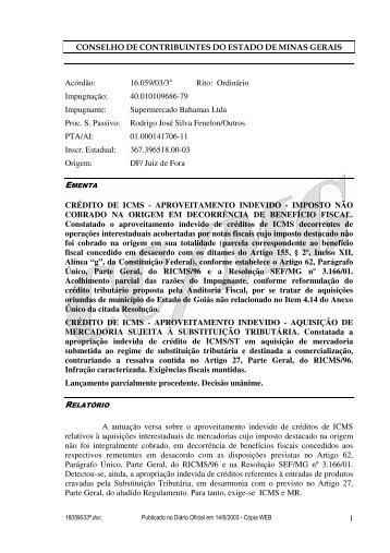 Microsoft Word - 16059033\252.doc - Secretaria de Estado de ...