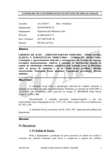 Microsoft Word - 16213031\252.doc - Secretaria de Estado de ...