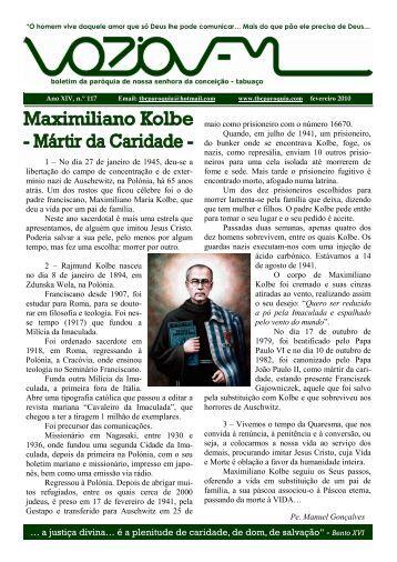 formato pdf - Paróquia de Nossa Senhora da Conceição - Tabuaço