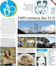FAPI começa dia 31/5 - Caderno 360