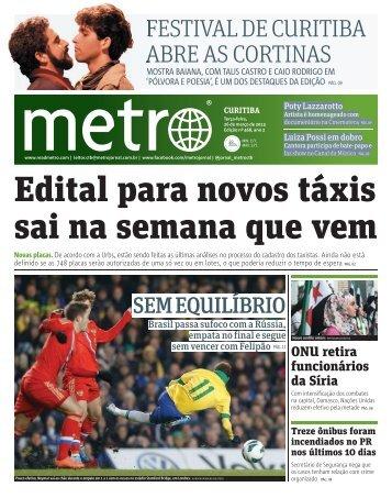 FESTIVAL DE CURITIBA ABRE AS CORTINAS - Metro