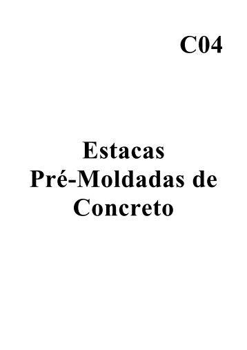 Estacas Pré-Moldadas de Concreto - ABEF