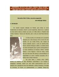 Marcelino Pão e Vinho, uma obra esquecida - Revista Hispanista