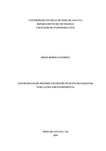 diego rebouças fortes - acessos - Universidade Estadual de Feira ...