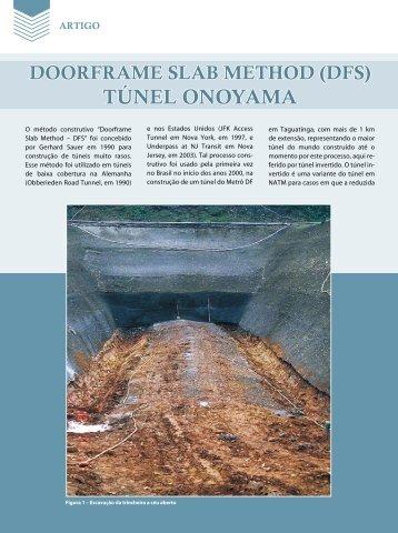 TÚNEL ONOYAMA - Revista Fundações & Obras Geotécnicas