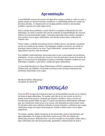 GUIA AVANÇADO SOBRE ÁGUA SUBTERRÂNEA - 883 KB - pdf
