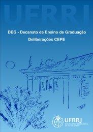 Verificação de Rendimento Escolar - Deliberação CEPE ... - UFRRJ