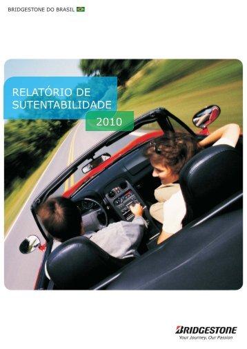 Relatório de Sustentabilidade 2010 - Bridgestone