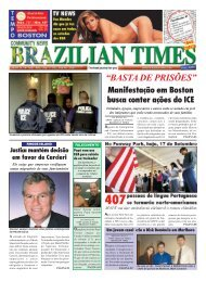 """""""BASTA DE PRISÕES"""" - Brazilian Times"""