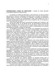 1 APRESENTANDO LIVROS DE PORTUGUÊS – Suzete de Paula ...