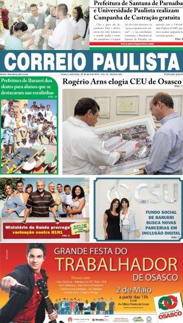 Rogério Arns elogia CEU de Osasco - Correio Paulista