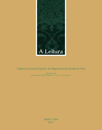Versão Completa (31,54 MB) - Tribunal de Justiça do Estado do Pará