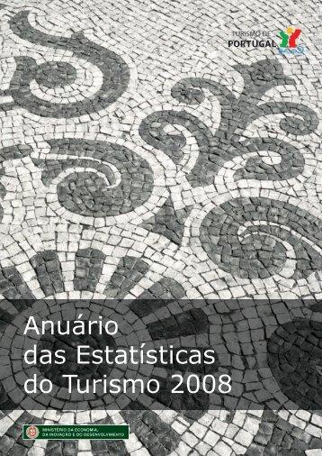 Anuário das Estatísticas do Turismo 2008 - Turismo de Portugal