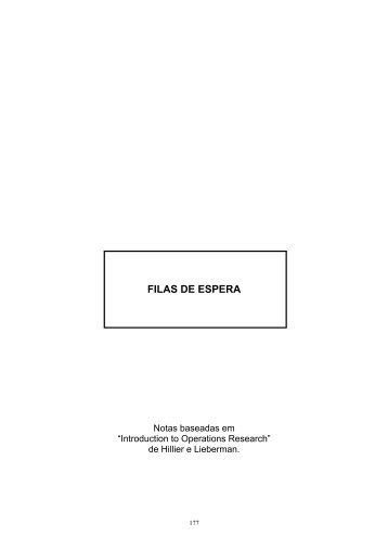 FILAS DE ESPERA