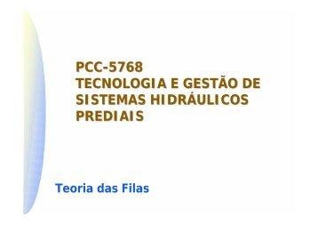 Teoria das Filas - PCC - 5768 Tecnologia e Gestão de Sistemas ...