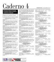 CADERNO 4 1 SEGUNDA-FEIRA, 12 DE NOVEMBRO DE 2012 ...