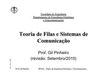 Teoria de Filas e Sistemas de Comunicação - LEE
