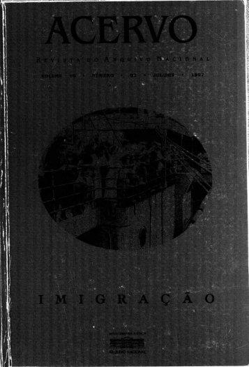 S. - Arquivo Nacional