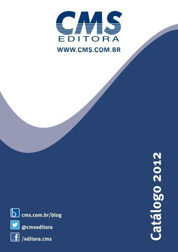 Catálogo Completo (pdf) - CMS Editora