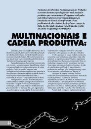 multinacionais e cadeia produtiva - Instituto Observatório Social