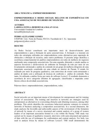 empreendedoras e redes sociais - BBL Consultoria