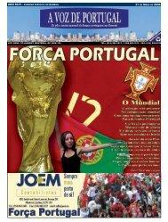 ano xlvi - caderno especial do mundial 31 de - A Voz de Portugal